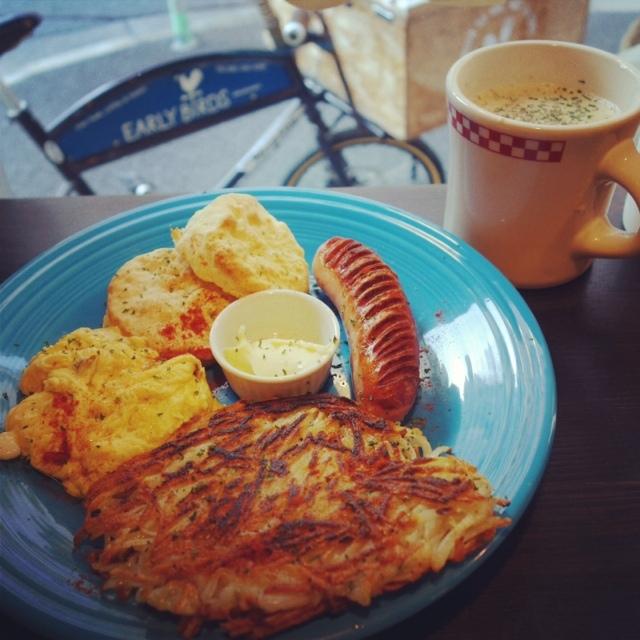 early birds breakfast