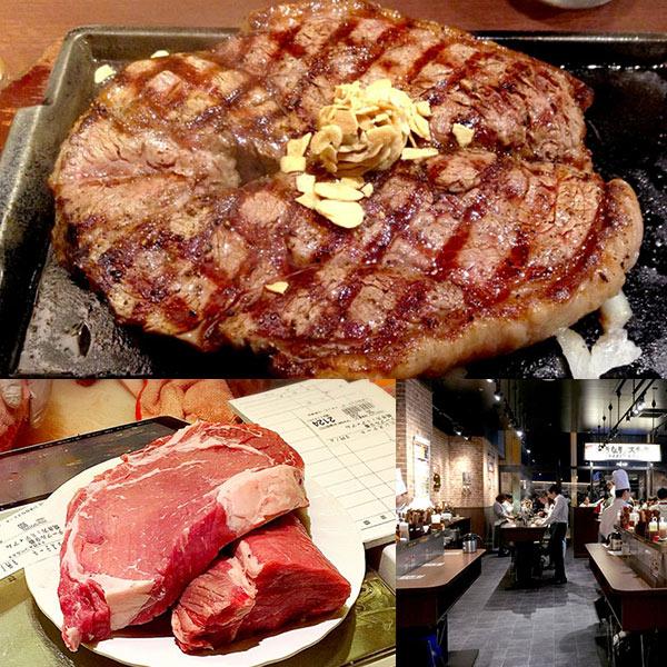 いきなりステーキ|名古屋のグルメまとめ