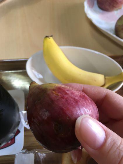 バナナといちじく