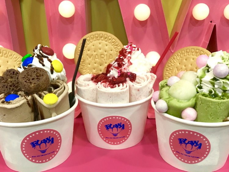 名古屋では初となるロールアイス専門店『FUWA ROLLICE FACTORY』が大須にオープンします。